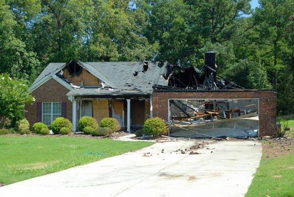 Homeowners insurance covers damage to your home